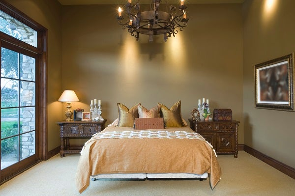 bedroom ambiance photo