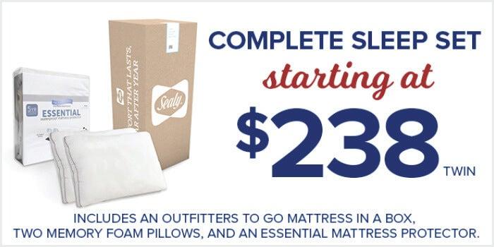 Complete Sleep Set Starting at $238!