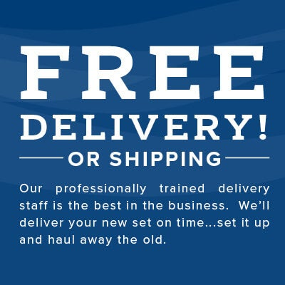 Free Delivery or Shipping