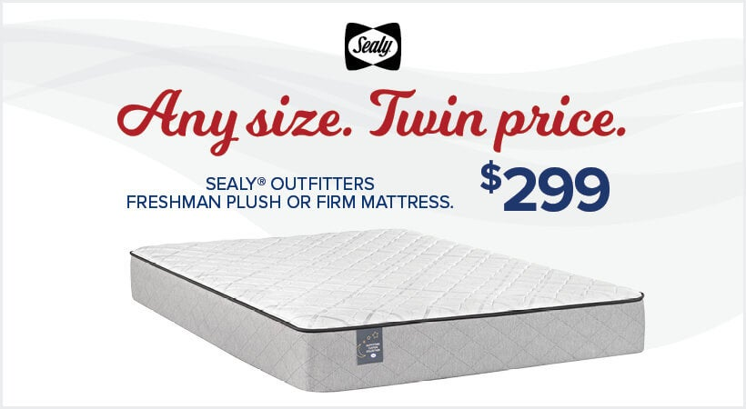Any Size - Twin Price