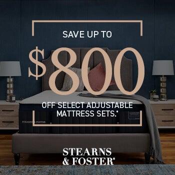 Stearns Save $800