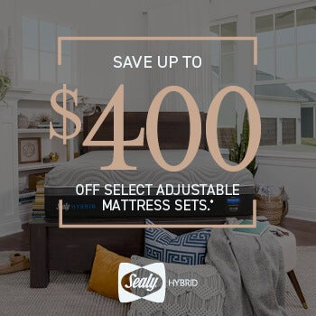 Sealy Hybrid Save $400