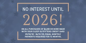 No Interest Until 2026