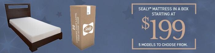 Sealy Mattress in a Box!