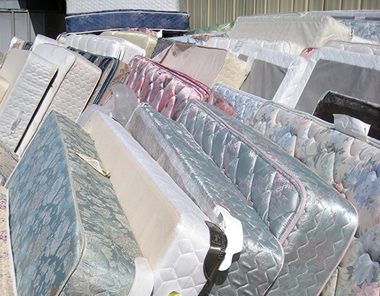 old mattresses recycle
