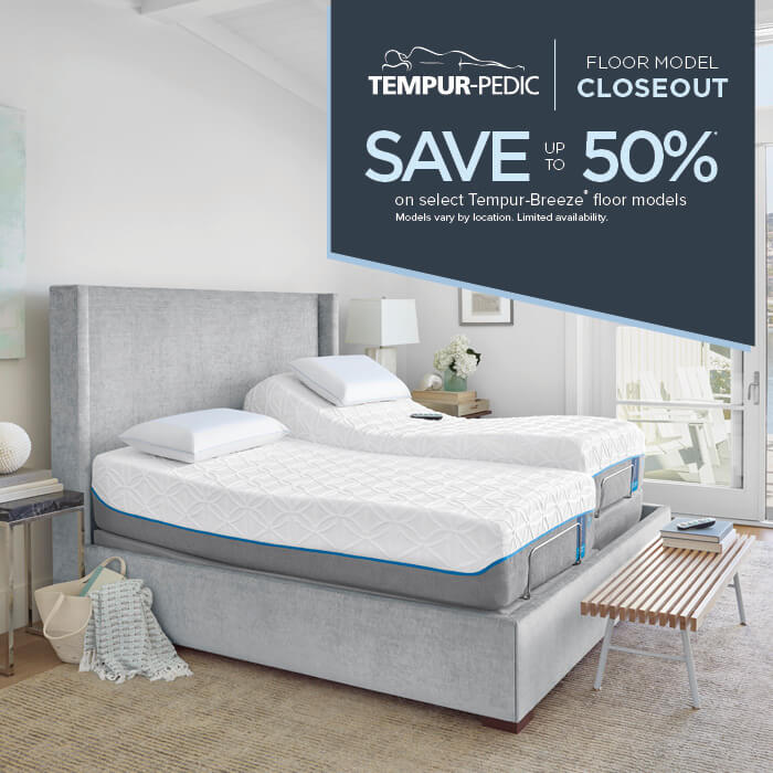 Tempur Pedic Closeout Sleep Outfitters