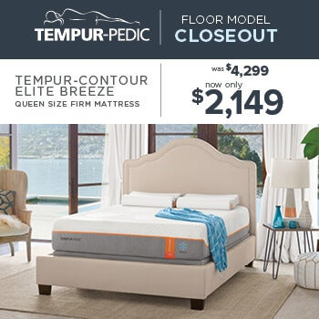 Tempur-Pedic Closeout - Contour Elite Breeze