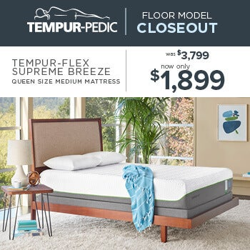 Tempur-Pedic Closeout - Flex Supreme Breeze