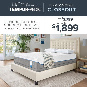 Tempur-Pedic Closeout - Cloud Supreme Breeze