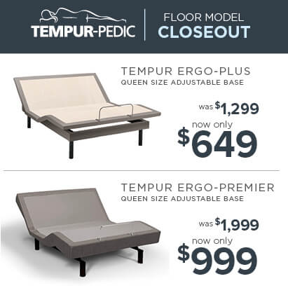 Tempur-Pedic Closeout Adjustable Bases