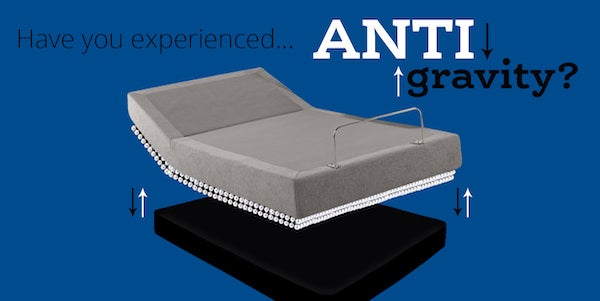 anti-gravity bed