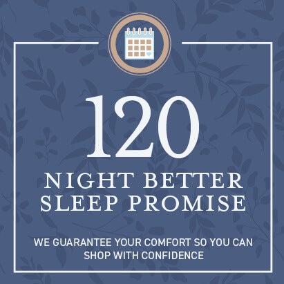 120 Night Better Sleep Promise - Sleep Outfitters