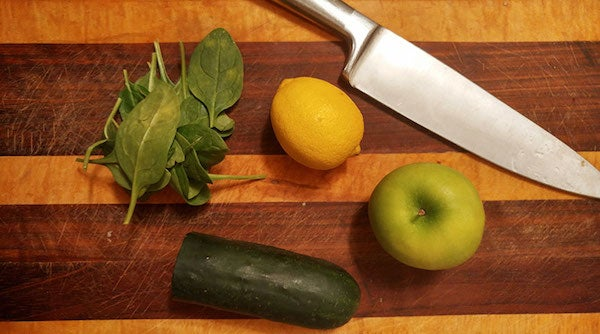ingredients for green juice