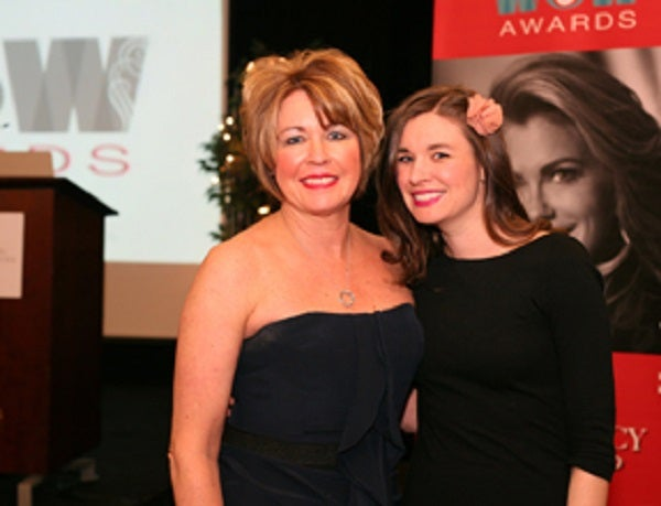 Kim Knopf and daughter Karrie at WOW awards