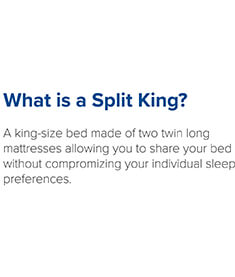 What is a split king?
