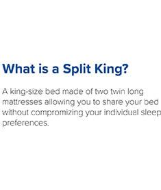 What is a split king?
